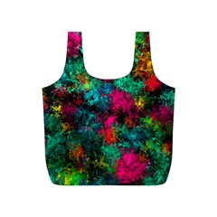Squiggly Abstract B Full Print Recycle Bags (s)  by MoreColorsinLife
