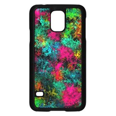Squiggly Abstract B Samsung Galaxy S5 Case (black)