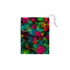 Squiggly Abstract B Drawstring Pouches (xs)  by MoreColorsinLife