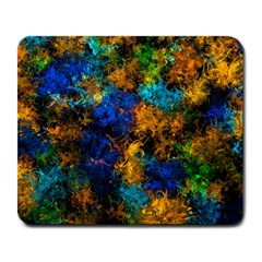 Squiggly Abstract C Large Mousepads by MoreColorsinLife