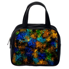 Squiggly Abstract C Classic Handbags (one Side) by MoreColorsinLife