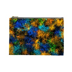 Squiggly Abstract C Cosmetic Bag (large)