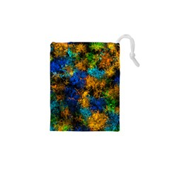 Squiggly Abstract C Drawstring Pouches (xs)  by MoreColorsinLife