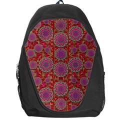 Hearts Can Also Be Flowers Such As Bleeding Hearts Pop Art Backpack Bag by pepitasart