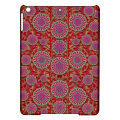 Hearts Can Also Be Flowers Such As Bleeding Hearts Pop Art Ipad Air Hardshell Cases by pepitasart