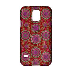Hearts Can Also Be Flowers Such As Bleeding Hearts Pop Art Samsung Galaxy S5 Hardshell Case  by pepitasart