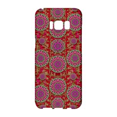 Hearts Can Also Be Flowers Such As Bleeding Hearts Pop Art Samsung Galaxy S8 Hardshell Case  by pepitasart