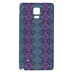 Retro Vintage Bleeding Hearts Pattern Galaxy Note 4 Back Case by pepitasart