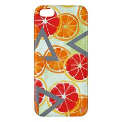 Citrus Play Apple Iphone 5 Premium Hardshell Case by allgirls