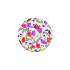 Floral Paradise Golf Ball Marker (10 Pack) by allgirls