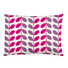 Pink Waves Pillow Case (two Sides)