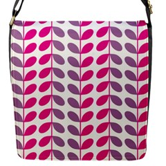 Pink Waves Flap Messenger Bag (s) by allgirls