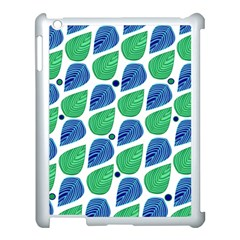 Leaves Apple Ipad 3/4 Case (white) by allgirls
