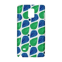 Leaves Samsung Galaxy Note 4 Hardshell Case by allgirls