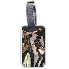 Johnny Depp Hollywood Vampires Luggage Tags (one Side)  by Photozrus
