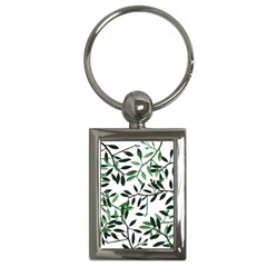 Botanical Leaves Key Chains (rectangle)  by allgirls