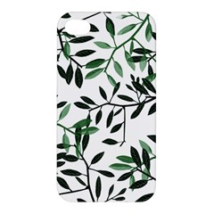 Botanical Leaves Apple Iphone 4/4s Premium Hardshell Case by allgirls