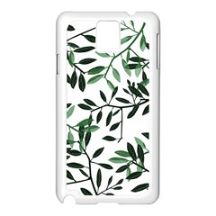 Botanical Leaves Samsung Galaxy Note 3 N9005 Case (white) by allgirls