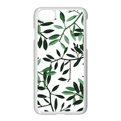 Botanical Leaves Apple Iphone 7 Seamless Case (white) by allgirls