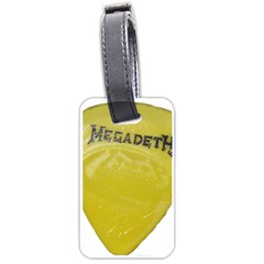Megadeth Heavy Metal Luggage Tags (one Side)  by Photozrus