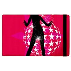 Sexy Lady Apple Ipad 3/4 Flip Case by Photozrus