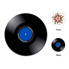 Vinyl Record Playing Cards (round)  by Photozrus