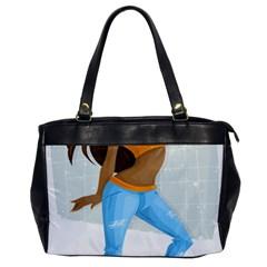 Sexy Woman Office Handbags by Photozrus