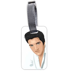 Elvis  Luggage Tags (one Side)  by Photozrus