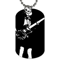 Angus Young  Dog Tag (two Sides) by Photozrus