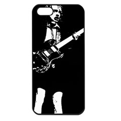 Angus Young  Apple Iphone 5 Seamless Case (black) by Photozrus