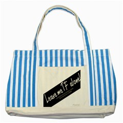 1501923289471 Striped Blue Tote Bag by shawnstestimony