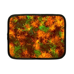 Squiggly Abstract F Netbook Case (small)  by MoreColorsinLife