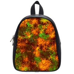 Squiggly Abstract F School Bag (small) by MoreColorsinLife