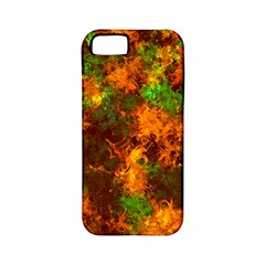 Squiggly Abstract F Apple Iphone 5 Classic Hardshell Case (pc+silicone)