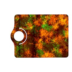 Squiggly Abstract F Kindle Fire Hd (2013) Flip 360 Case by MoreColorsinLife