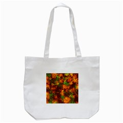 Squiggly Abstract F Tote Bag (white) by MoreColorsinLife