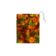 Squiggly Abstract F Drawstring Pouches (xs)  by MoreColorsinLife