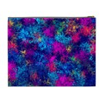 Squiggly Abstract E Cosmetic Bag (XL) Back
