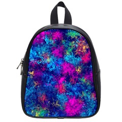 Squiggly Abstract E School Bag (small) by MoreColorsinLife