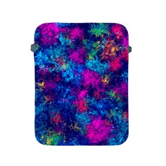 Squiggly Abstract E Apple Ipad 2/3/4 Protective Soft Cases by MoreColorsinLife