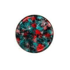 Squiggly Abstract D Hat Clip Ball Marker (10 Pack) by MoreColorsinLife
