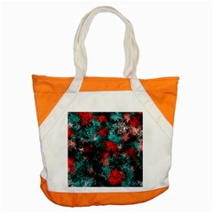 Squiggly Abstract D Accent Tote Bag by MoreColorsinLife