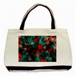 Squiggly Abstract D Basic Tote Bag (Two Sides) Front
