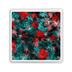 Squiggly Abstract D Memory Card Reader (square)  by MoreColorsinLife
