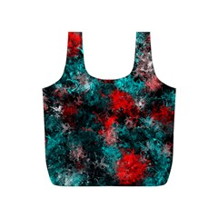 Squiggly Abstract D Full Print Recycle Bags (s)  by MoreColorsinLife