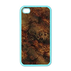 Wonderful Marbled Structure A Apple Iphone 4 Case (color) by MoreColorsinLife
