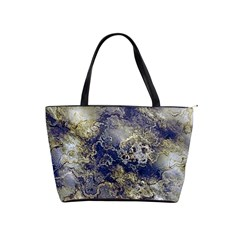Wonderful Marbled Structure D Shoulder Handbags by MoreColorsinLife