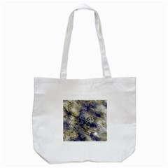 Wonderful Marbled Structure D Tote Bag (white) by MoreColorsinLife