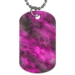 Wonderful Marbled Structure C Dog Tag (two Sides) by MoreColorsinLife