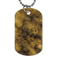 Wonderful Marbled Structure B Dog Tag (two Sides) by MoreColorsinLife
